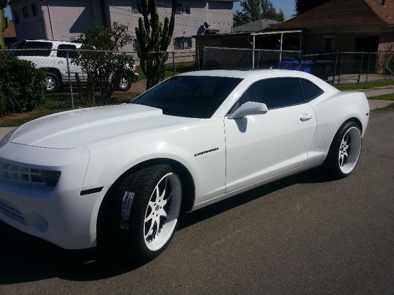 White Camaro With White Wheels Joe S Stereo