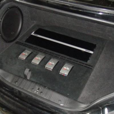 Jaguar XKR JL Audio System