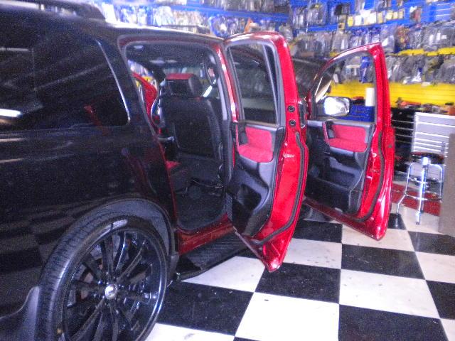 Pink Nissan Armada w/ Custom Interior & System | Joe's Stereo
