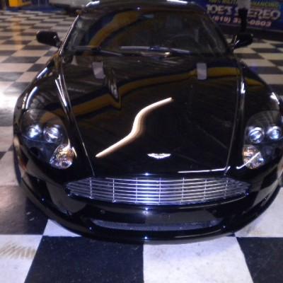 Aston Martin DB9 Front