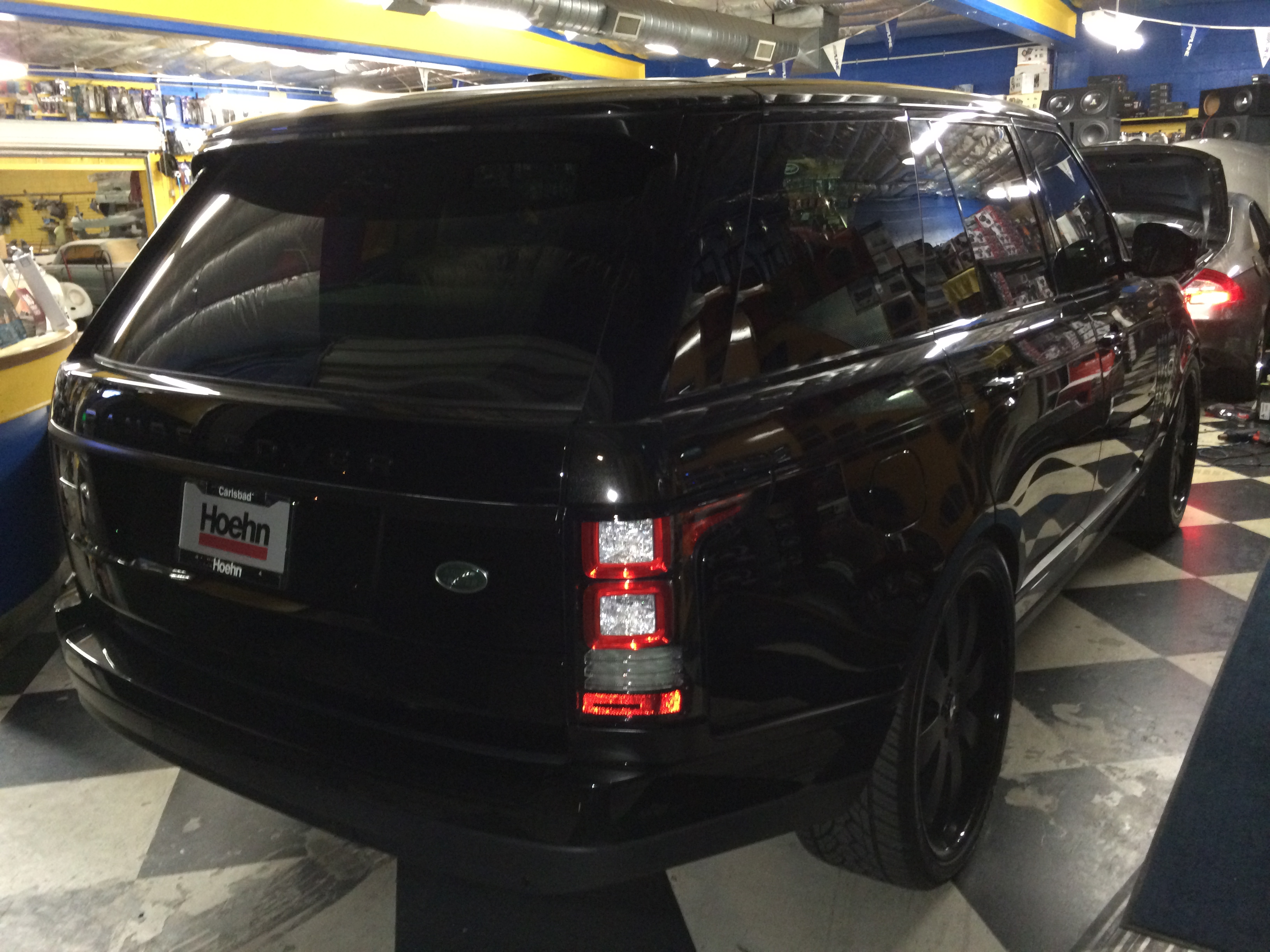2014 Range Rover Blacked Out