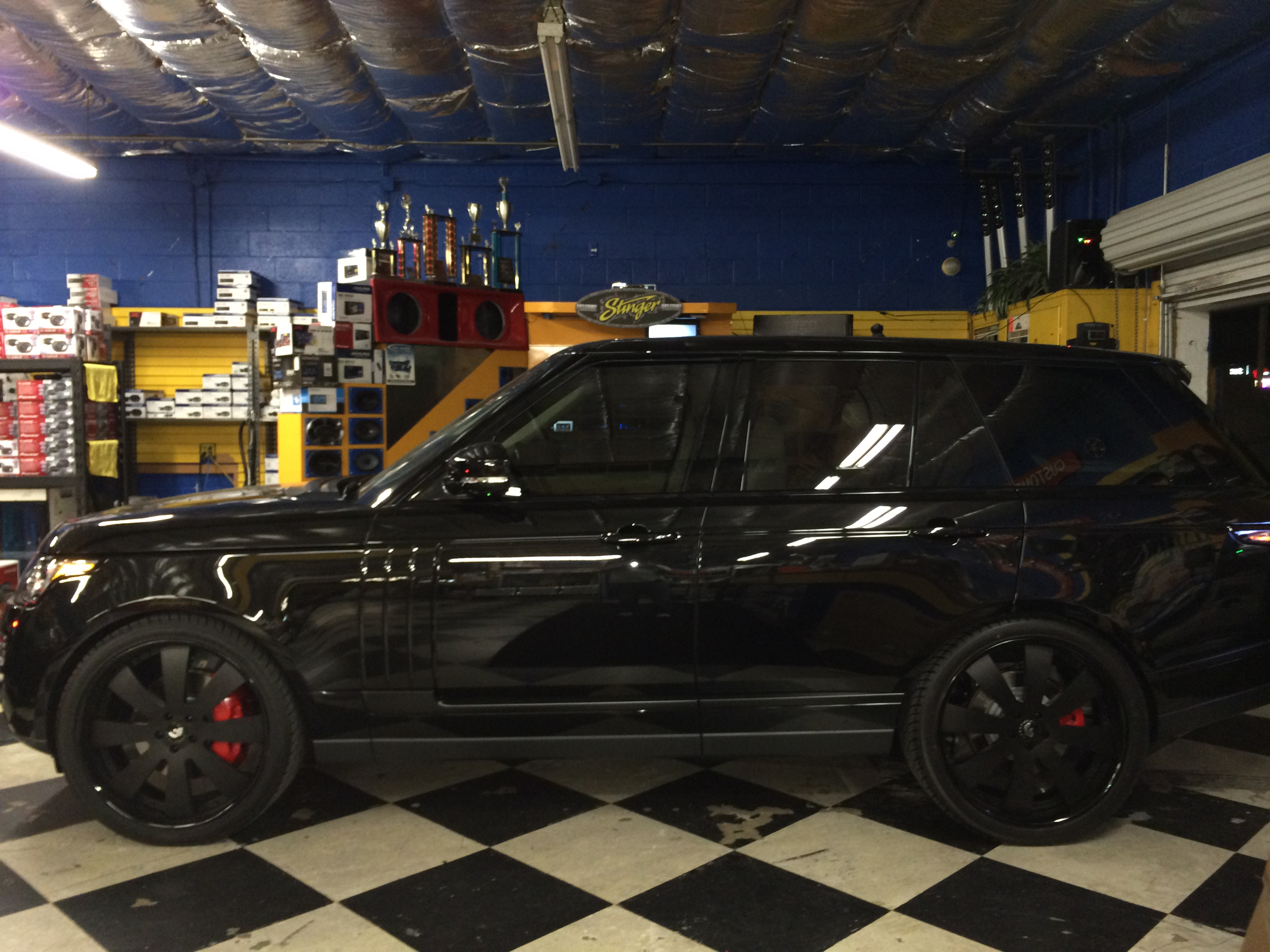 2014 Range Rover Blacked Out  Joes Stereo