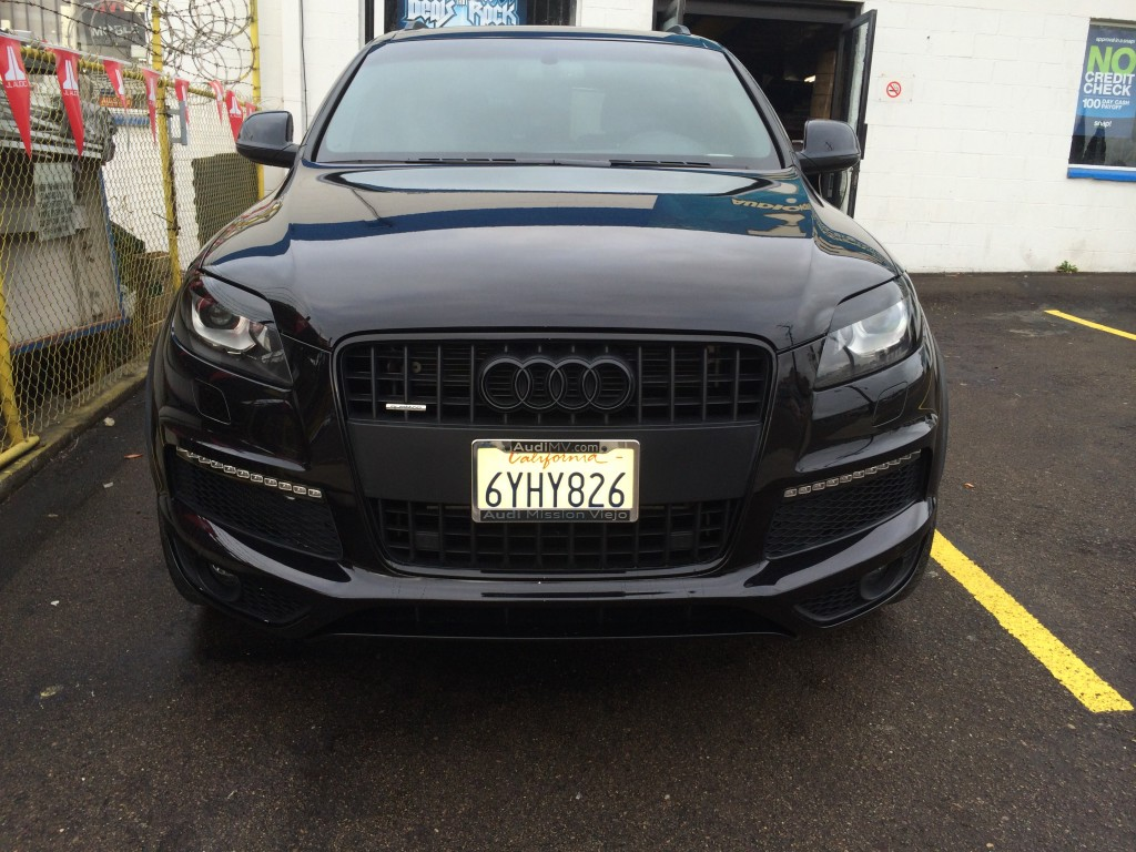 audi q7 blacked out joes stereo