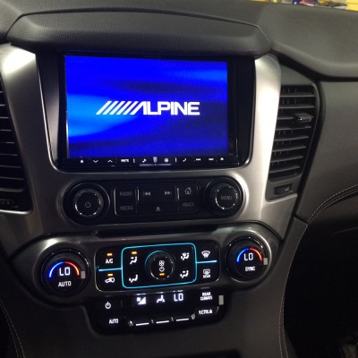 Alpine Head Unit