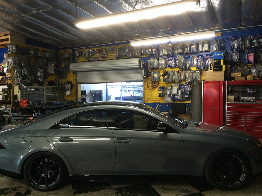 Grey Mercedes Cls With Black Wheels Joe S Stereo