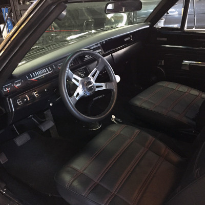 Classic Chevy Impala with custom interior